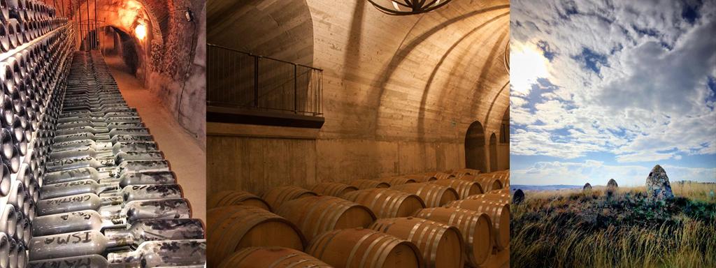 El vino subterráneo de los monjes
