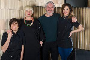 Raquel, Anabel , Juan Miguel e Idoia
