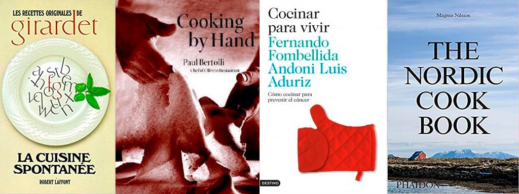 Libros que son fogones: de chefs, lecturas y maestros