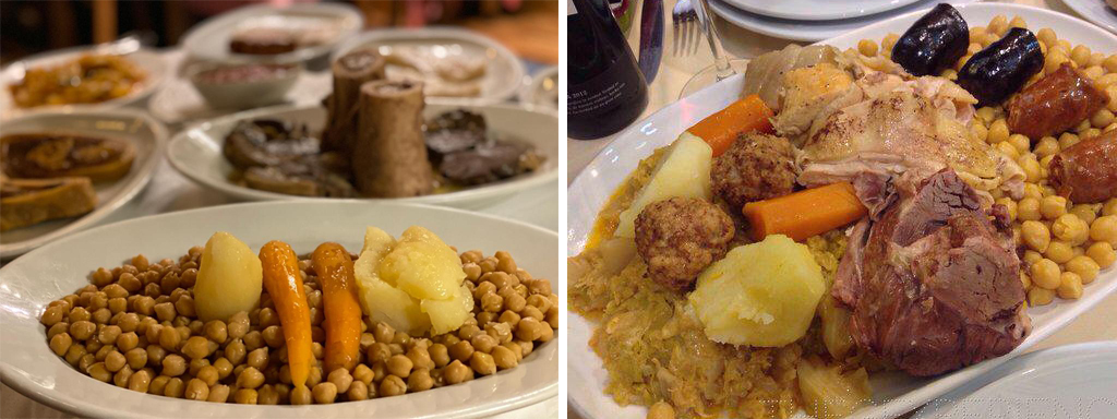 El cocido o los saltos de esquí del otoño español