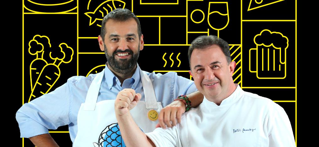 La cocina fácil de dos genios
